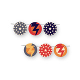 Super Heroes Banner Circle Garlands