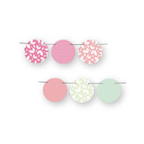 Retro Floral Garden Circle Garlands