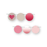 Ombre Love Circle Garlands