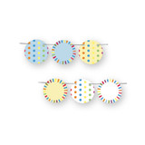 Fun with Color Circle Garlands