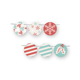 Holiday Stripes Circle Garlands