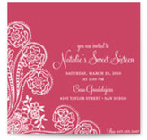 Spanish Lace Birthday Party Invitations