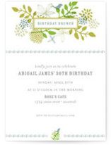Fling Birthday Party Invitations