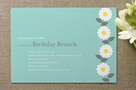 Soiree Adult Birthday Party Invitations