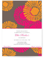 Riviera Birthday Party Invitations