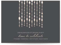 Swanky Soiree Birthday Party Invitations