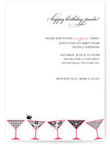 Toast Birthday Party Invitations