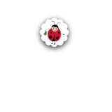 Little Ladybug Closure Stickers