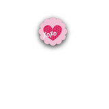 XOXO Closure Stickers