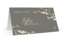 In Bloom Foil-Pressed Place Cards