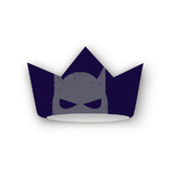 Super Heroes Banner Party Crowns