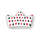 Playing Cards Party Crowns