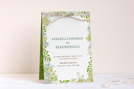 Fling Unique Wedding Programs
