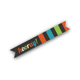 Monster Trick or Treat Flag Stickers