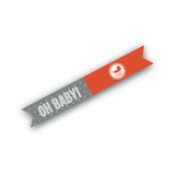 Urban Baby Flag Stickers