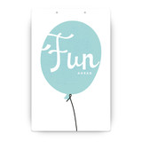 Up Up and Away Balloon Party Greeting Signs