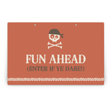 argh! pirates! Party Greeting Signs