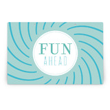 Pinwheel Party Greeting Signs