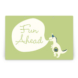 Cakeasaurus Dinosaur Party Greeting Signs