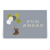 Gentleman Bear Party Greeting Signs