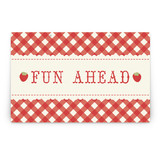 Fancy Fawn Party Greeting Signs