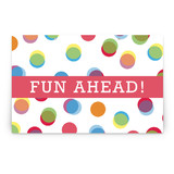Fun with Color Party Greeting Signs