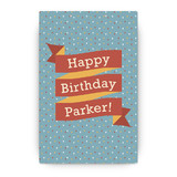 Paper Circus Party Greeting Signs