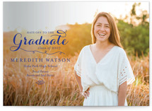 Refined Graduation Announcements