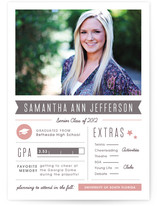 Grad Stats Graduation Announcements