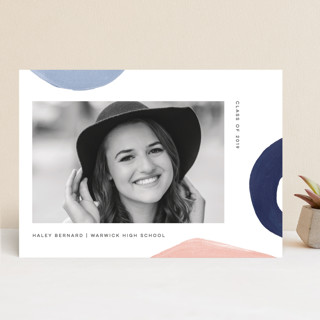 Modern Abstracts Graduation Announcements