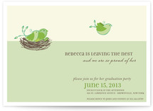 Leaving The Nest Graduation Announcements