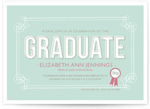 The Graduate Graduation Announcements
