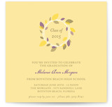 Autumn Wreath Graduation Announcements