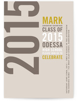 Type Stack Graduation Announcements
