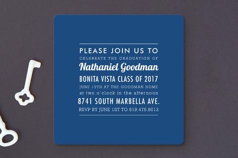 The Square Types Graduation Announcements