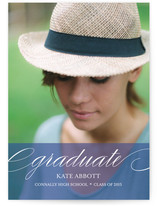 Elegant Grad Graduation Announcements