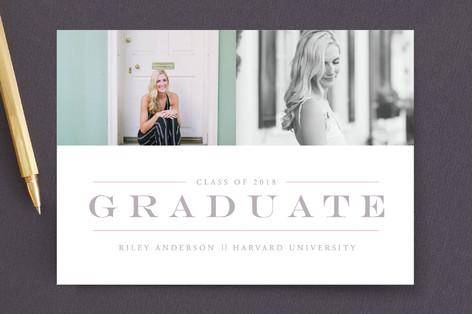 Classy & Classic Graduation Announcements
