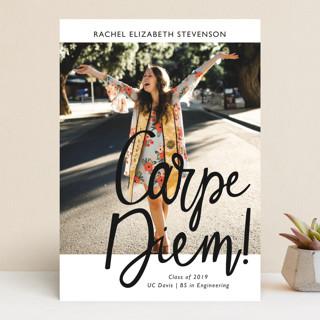 Carpe Diem! Graduation Announcements