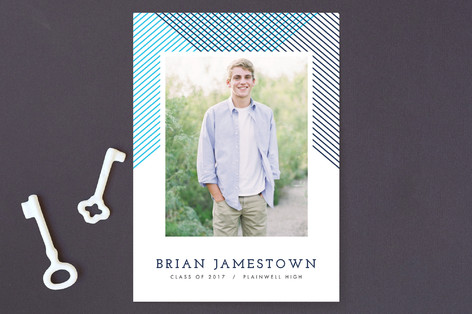 Finely Lined Future Graduation Announcements