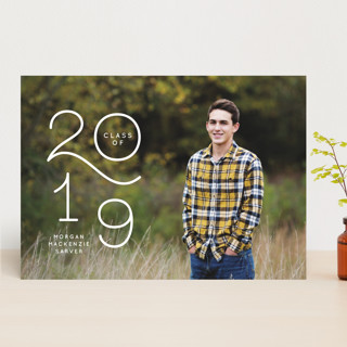 Colorful New Year Wishes Graduation Announcements