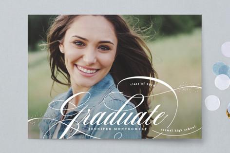 Glam quotient Graduation Announcements
