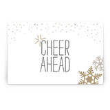 Silver and Gold Party Greeting Signs