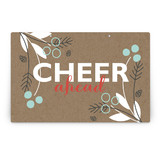 Berry Kraft Party Greeting Signs