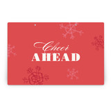 Krafted Winter Party Greeting Signs