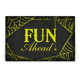 Spirited Halloween Party Greeting Signs