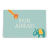 Birthday Balloon Fun Party Greeting Signs