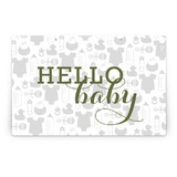 Baby Icons Party Greeting Signs