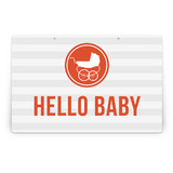 Urban Baby Party Greeting Signs