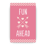 Conversation Heart Valentine Party Greeting Signs