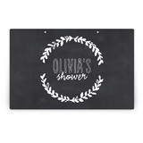 Blackboard Perfection Party Greeting Signs